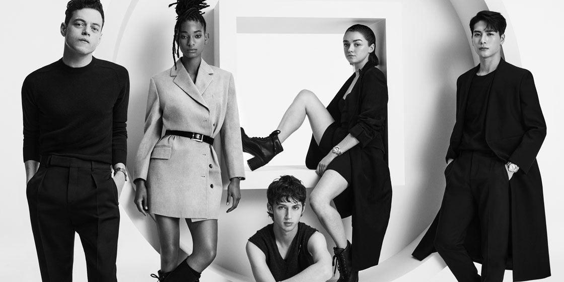 Cartier unveils its latest celebrity campaign featuring Jackson Wang, Troye Sivan, Rami Malek, Willow Smith and Maisie Williams