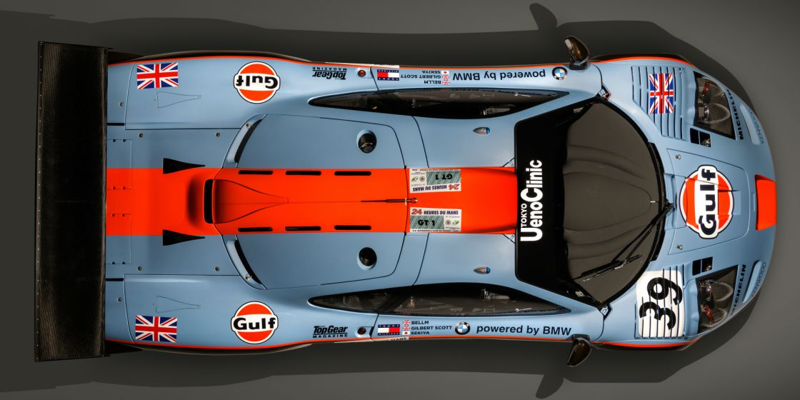 The best Gulf Racing race cars