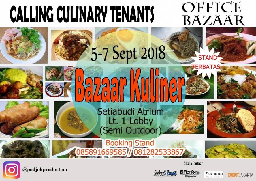 Bazaar Kuliner Setiabudi Eventbanget