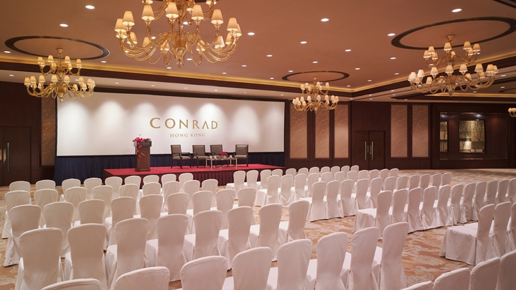 Grand Ballroom - Theatre Set-up