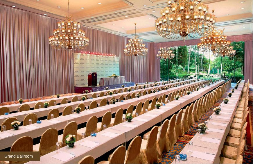 Grand Ballroom - Theatre Set-up
