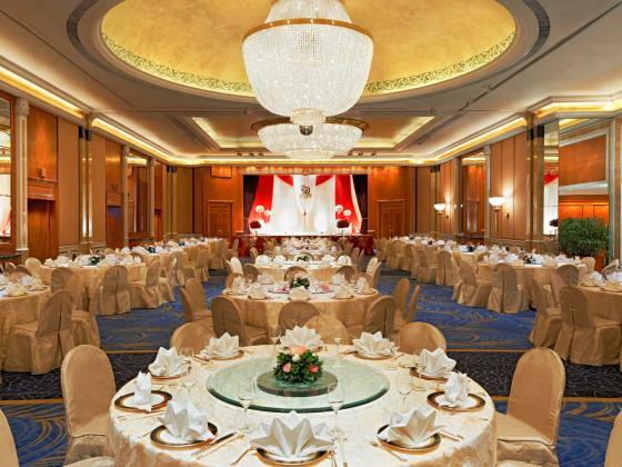 Grand Ballroom - Banquet Set-up