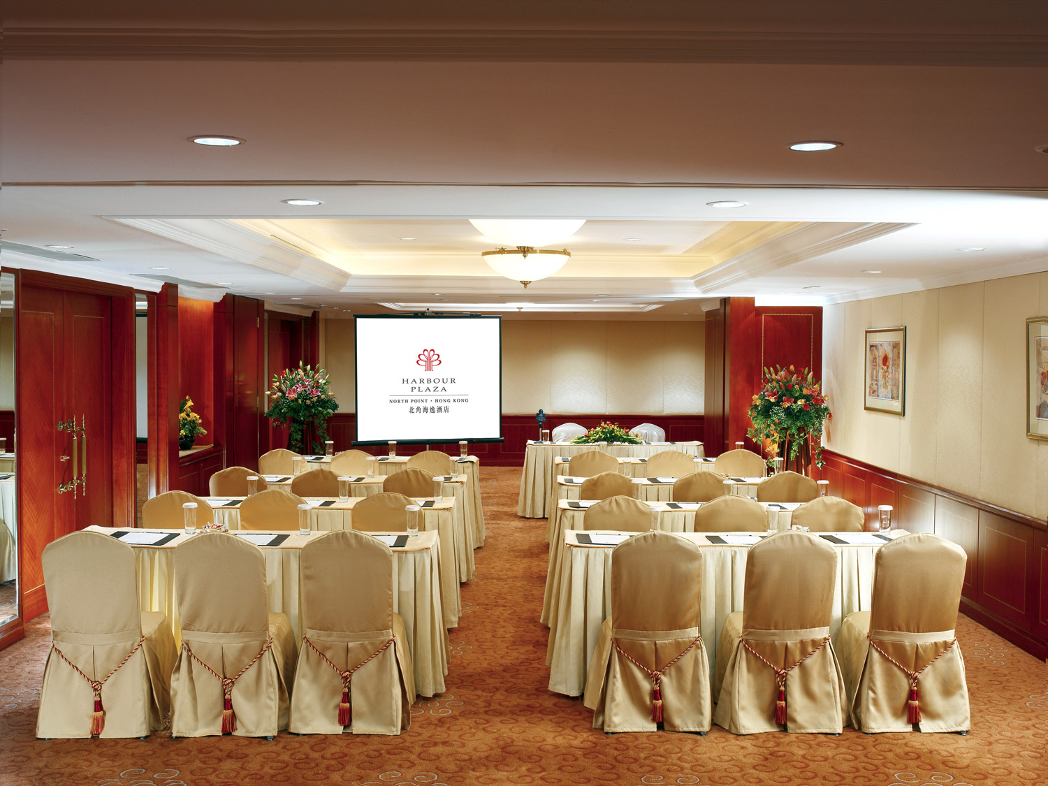 Harbour Plaza Rooms - Classroom Set-up