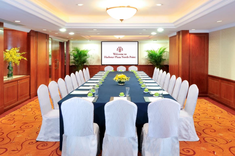 Harbour Plaza Rooms - Boardroom Set-up