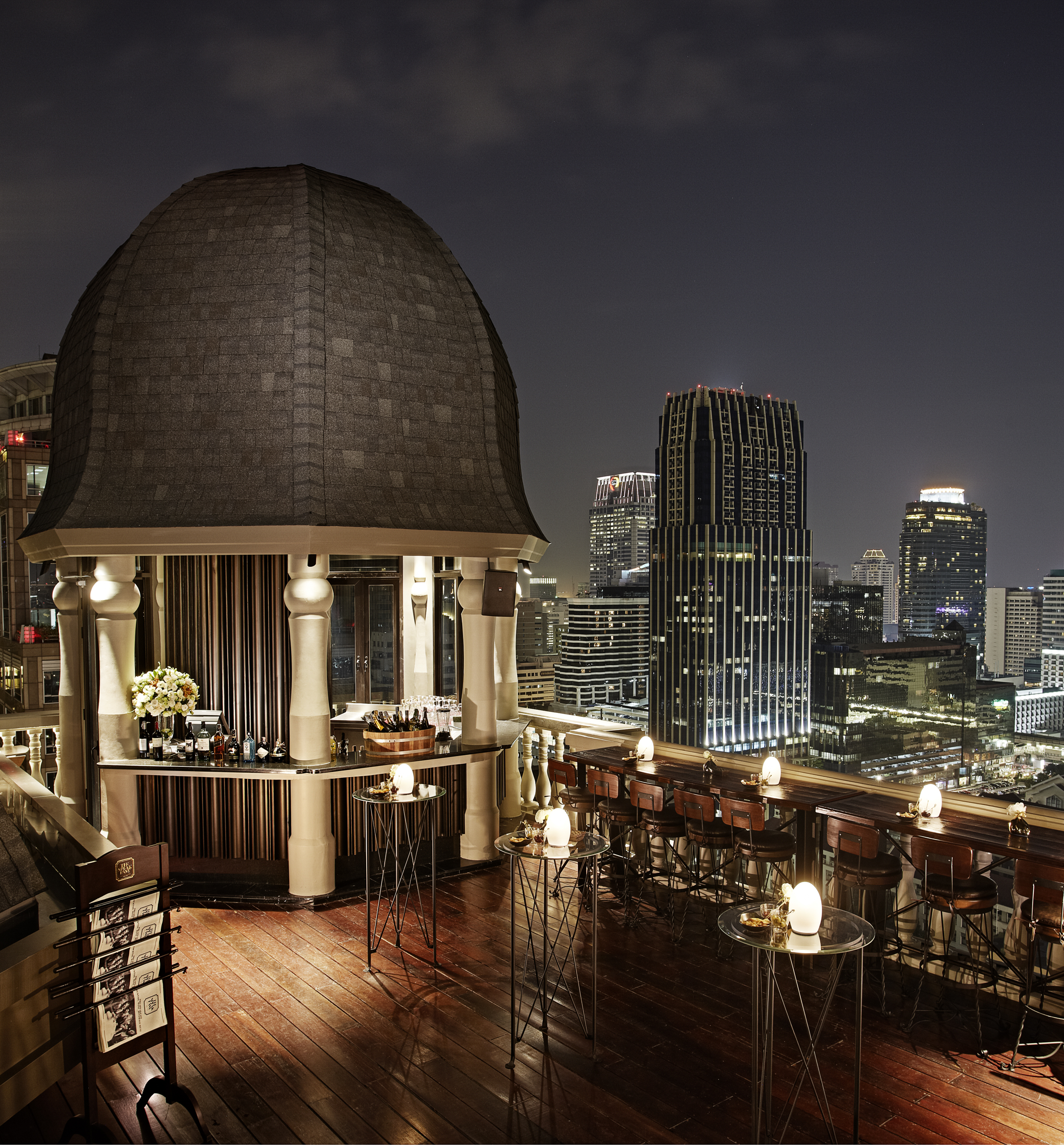The Speakeasy Rooftop Bar