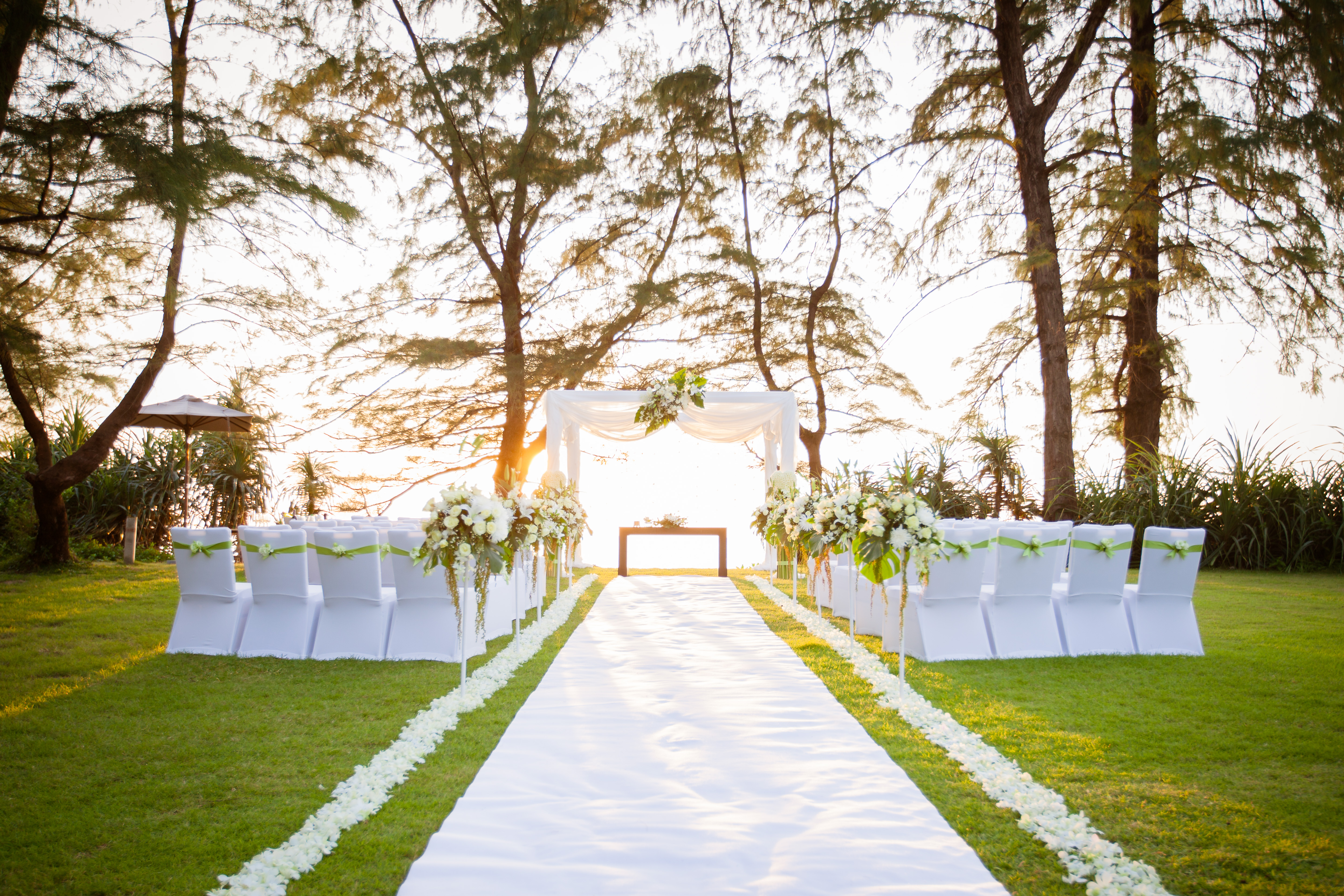 Lawn - Wedding Set-up