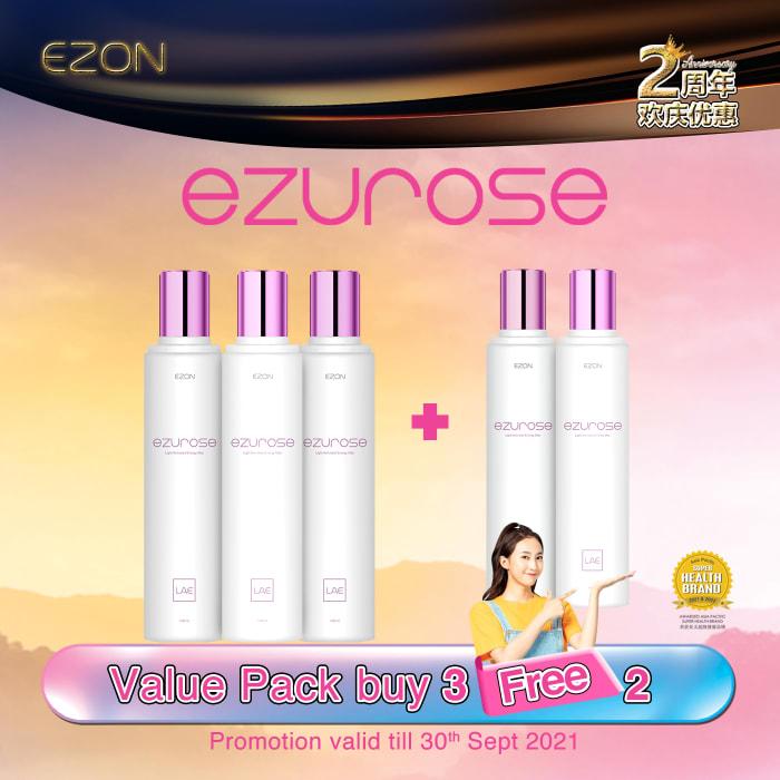 EZUROSE package Buy 3 Free 2