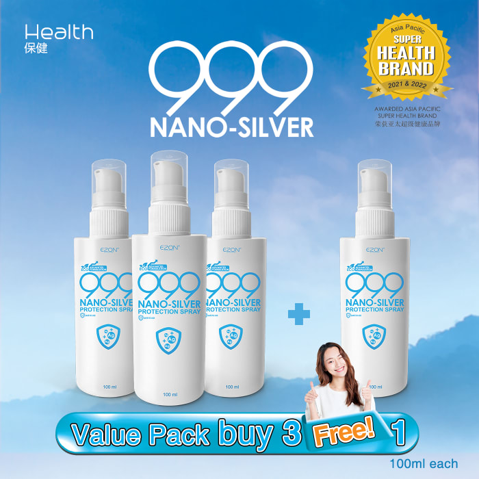 999 Nano Silver (100ml)