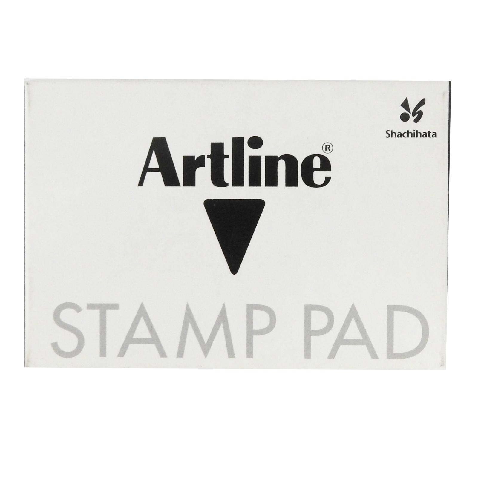 Artline Black Stamp Pad Size Format No. 0 EHJ-2