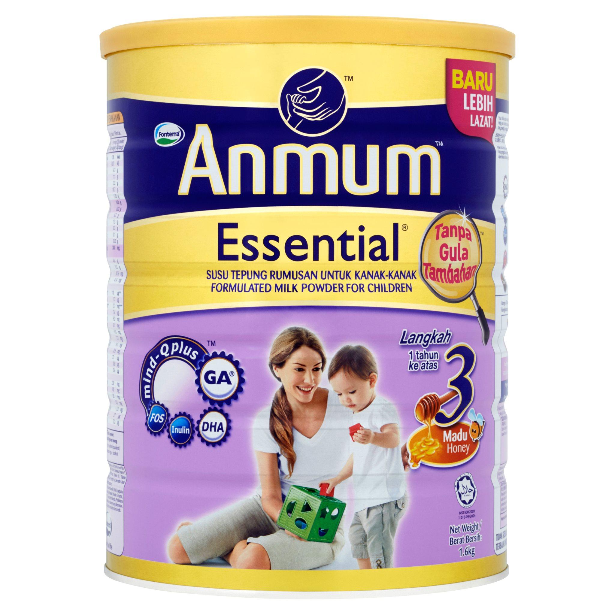 Anmum Essential Step 3 - Honey (1.6kg)