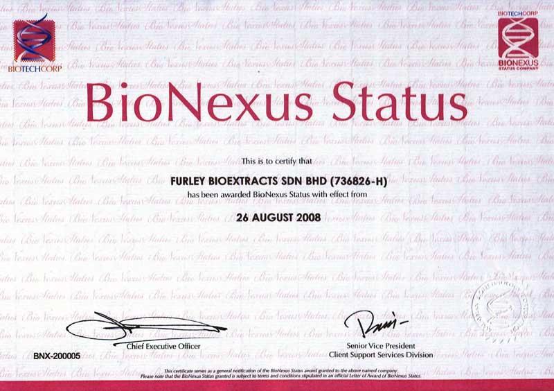 BioNexus-Status