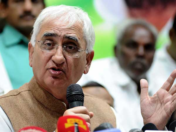 'Muslim blood' on Cong hands, agrees Khurshid