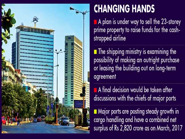 Air India may sell iconic Nariman Point property to shipping ministry