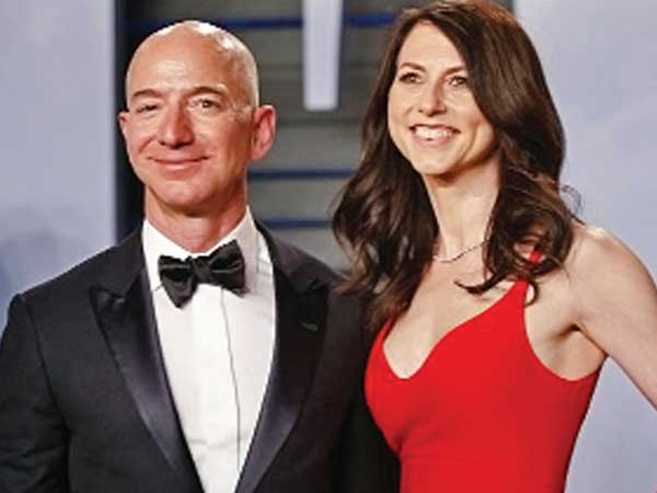 Amazon boss Bezos, wife MacKenzie to split