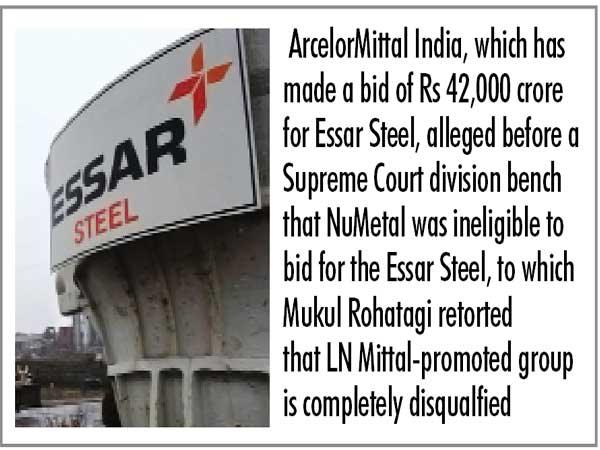 ArcelorMittal assails NCLAT order in SC, reluctant to pay Rs 7,000 cr for Essar bidding