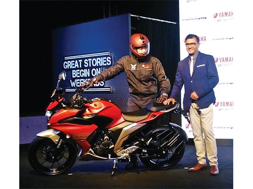 Yamaha launches Fazer25 at Rs.1.28 lakh