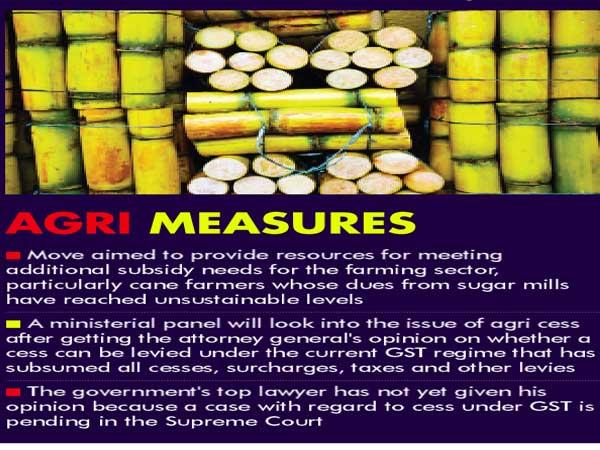 Govt mulls 1% cess on luxury items to build farm corpus