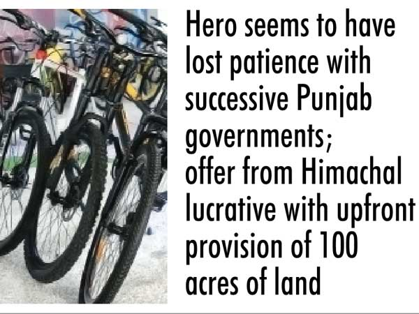 Hero may choose HP for Cycle Valley project