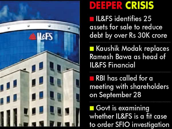IL&FS dominoes set to bring house down