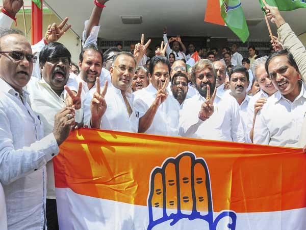 K'taka Diwali cracker: Cong-JDS beat BJP 4-1 in bypolls
