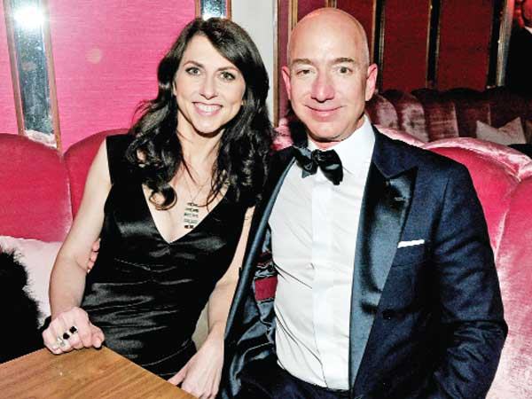MacKenzie Bezos may become world's richest woman after split