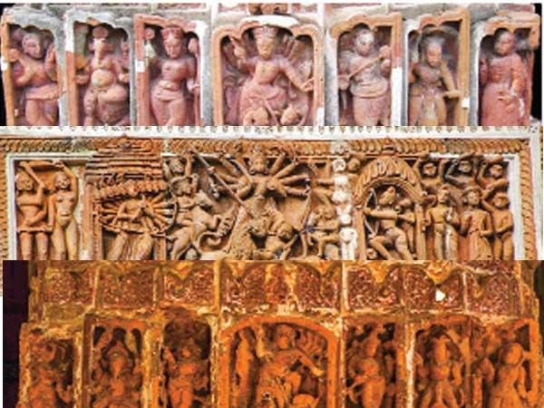 Medieval Terracotta Inspires Durga Images