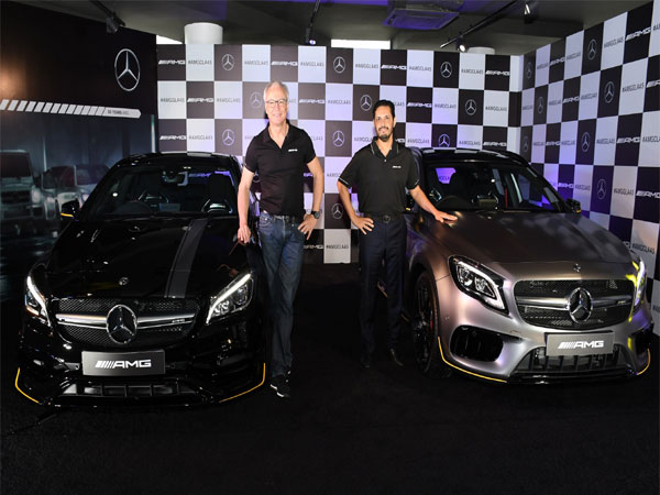 Mercedes unveils facelifts of AMG CLA & GLA 45