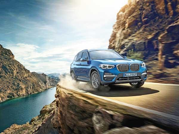 New BMW X3 xDrive30i @ Rs 56.90 lakh