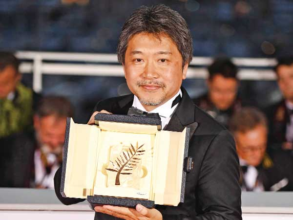 Japanese director wins Palme d'Or at Cannes