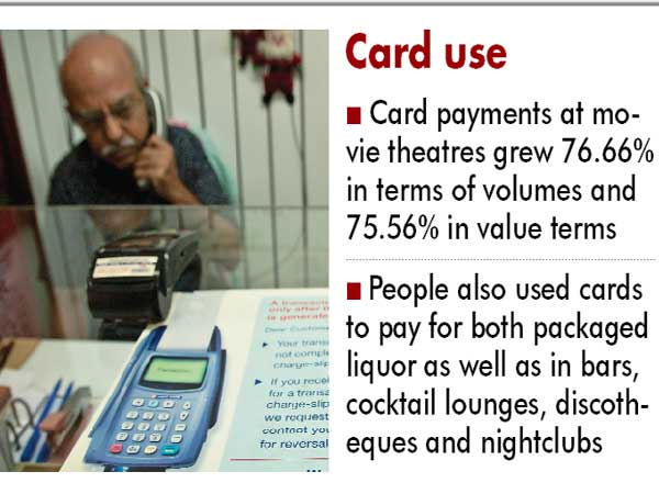 People comfortable using cards for fun categories