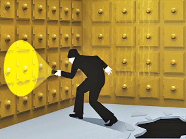 Robbers dig tunnel into BoB's Navi Mumbai branch, loot 30 lockers
