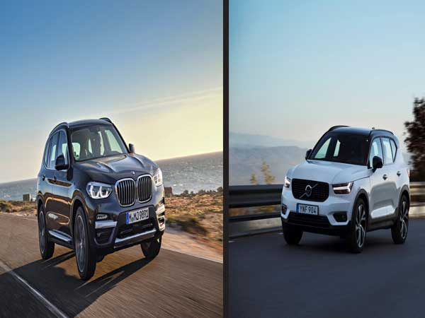 Volvo, BMW sales in top gear