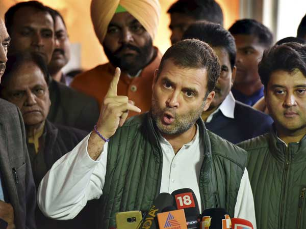 Won't let PM sleep until all farm loans are waived: Rahul