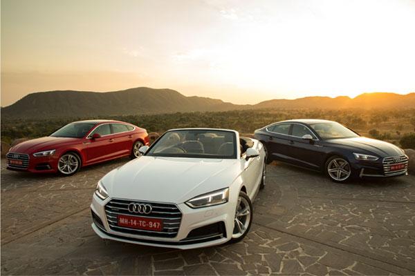 Audi India launches three new models, expands portfolio