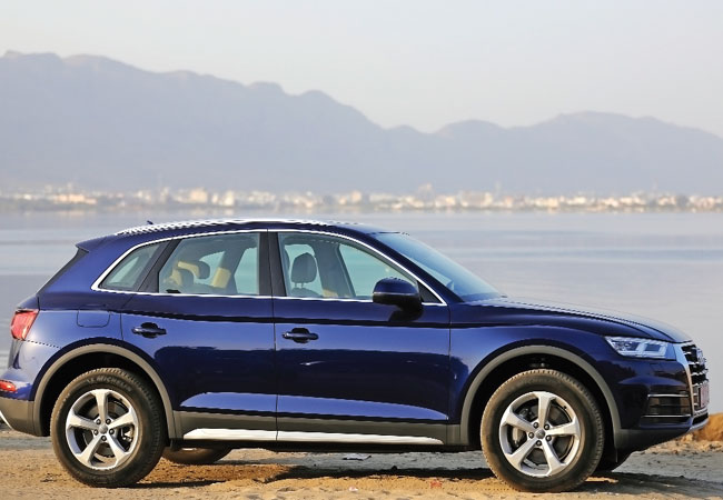 The new Audi Q5 is fun to drive