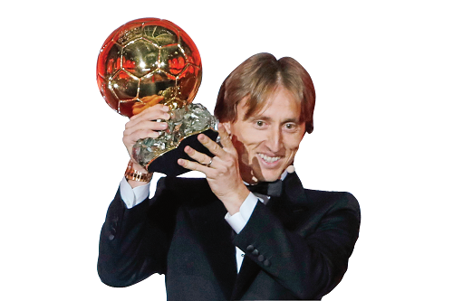 Modric ends Messi, Ronaldo grip on Ballon d'Or