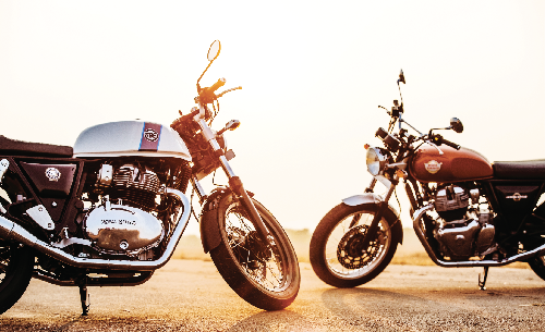 Royal Enfield goes global with 650 Twins bikes