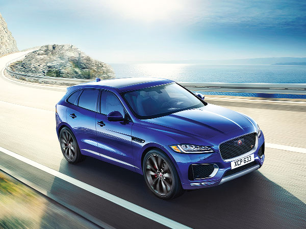 Jaguar F-Pace is practical & stylish luxury SUV
