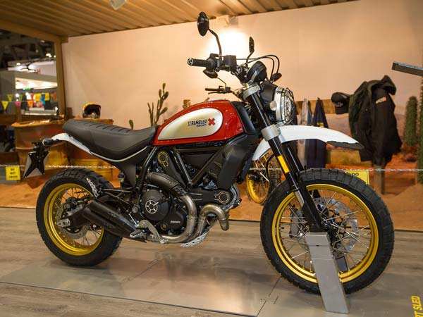 Ducati launches Scrambler Desert Sled at Rs 9.32 lakh