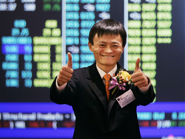 Alibaba's Rise Creates ten Billionaires