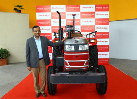 Mahindra showcases driverless tractors