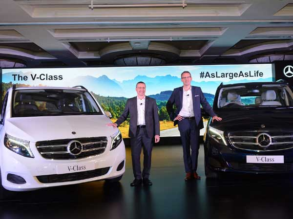 Mercedes creates luxury MPV space with new V-Class car at Rs 68.40 lakh
