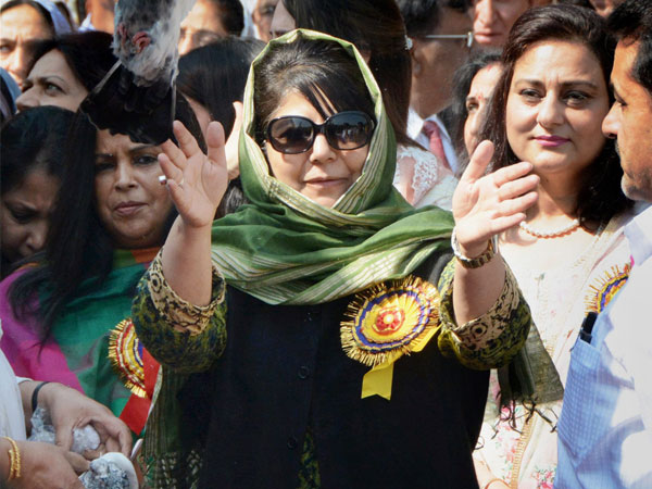 Time right for talks to  resolve Kashmir issue, says Mehbooba