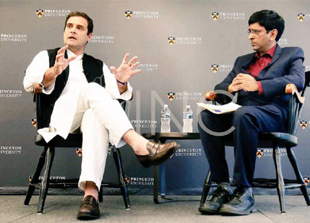 Unemployment reason for Modi, Trump's rise to power, says Rahul