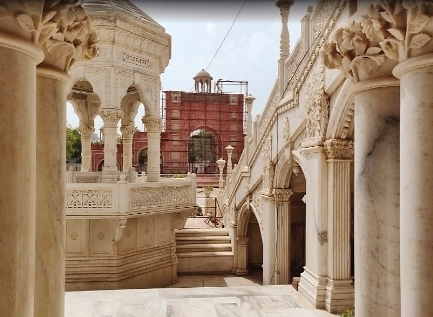 THE RADHASOAMI TEMPLE AT AGRA