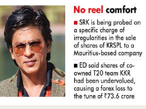 SRK gets another ED notice for Rs 74 cr forex loss in share sale