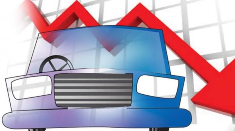 Passenger vehicle sales in July fell at the fastest pace in nearly two decades. (Representational Image)