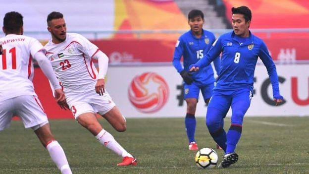 ทีมชาติไทย 1-5 ปาเลสไตน์