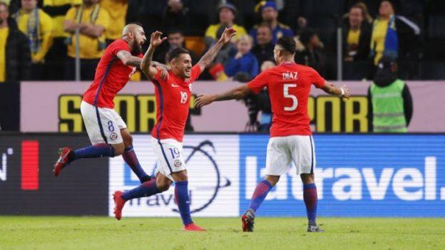 สวีเดน 1-2 ชิลี