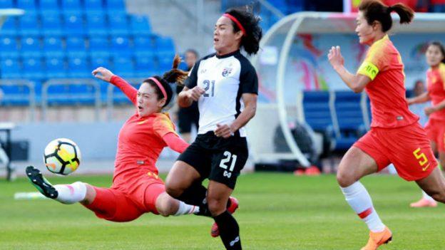 ทีมชาติไทย 1-3 จีน